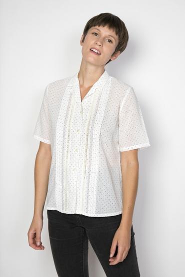 Camisa vintage blanca