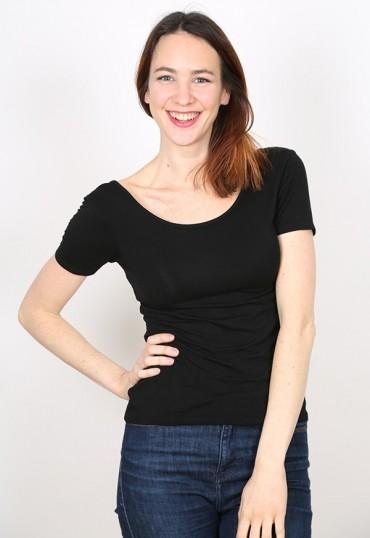 Camiseta básica SusiSweetdress negra
