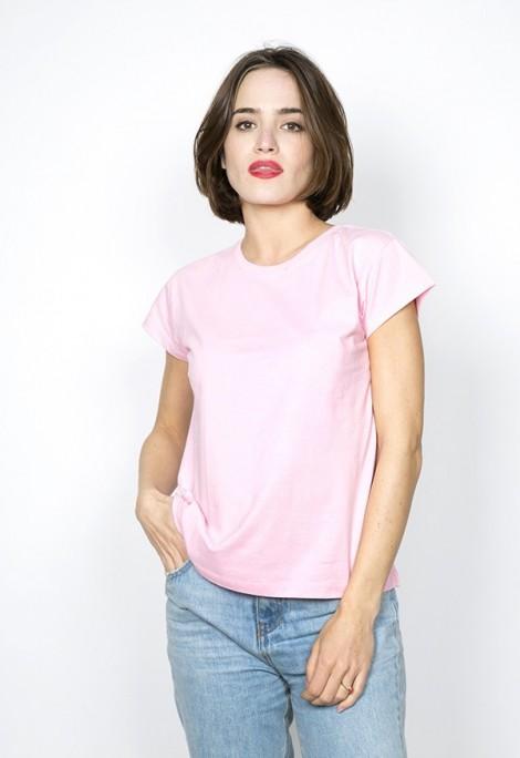 Camiseta básica SusiSweetdress rosa
