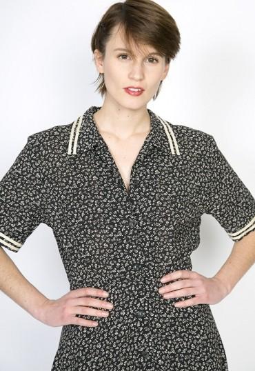 Vestido vintage abril