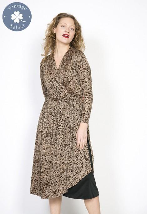 Vestido vintage Select print