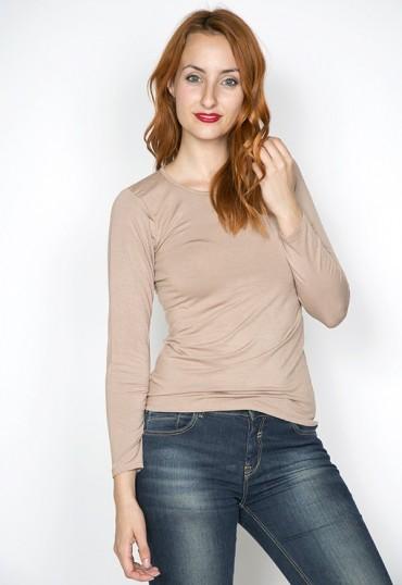 Camiseta básica SusiSweetdress cruda manga larga