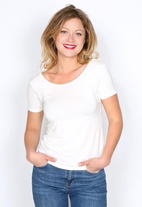 Camiseta básica SusiSweetdress blanca