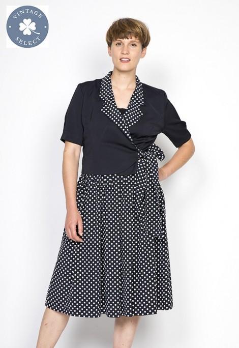 Vestido vintage Select cruzado