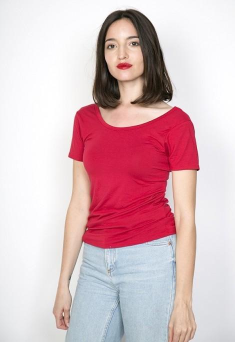 Camiseta básica SusiSweetdress roja