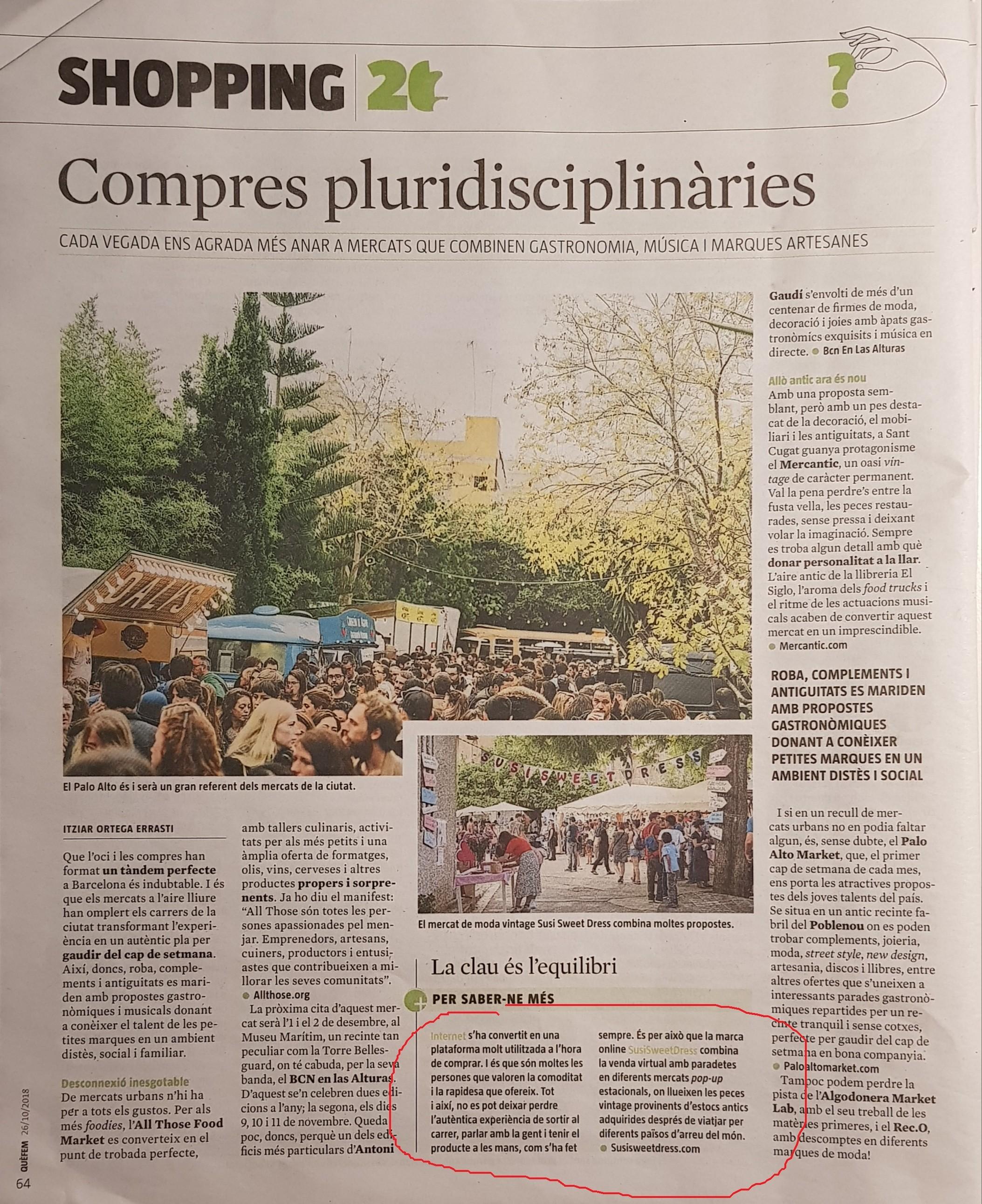 Revista Que Fem- La Vanguardia