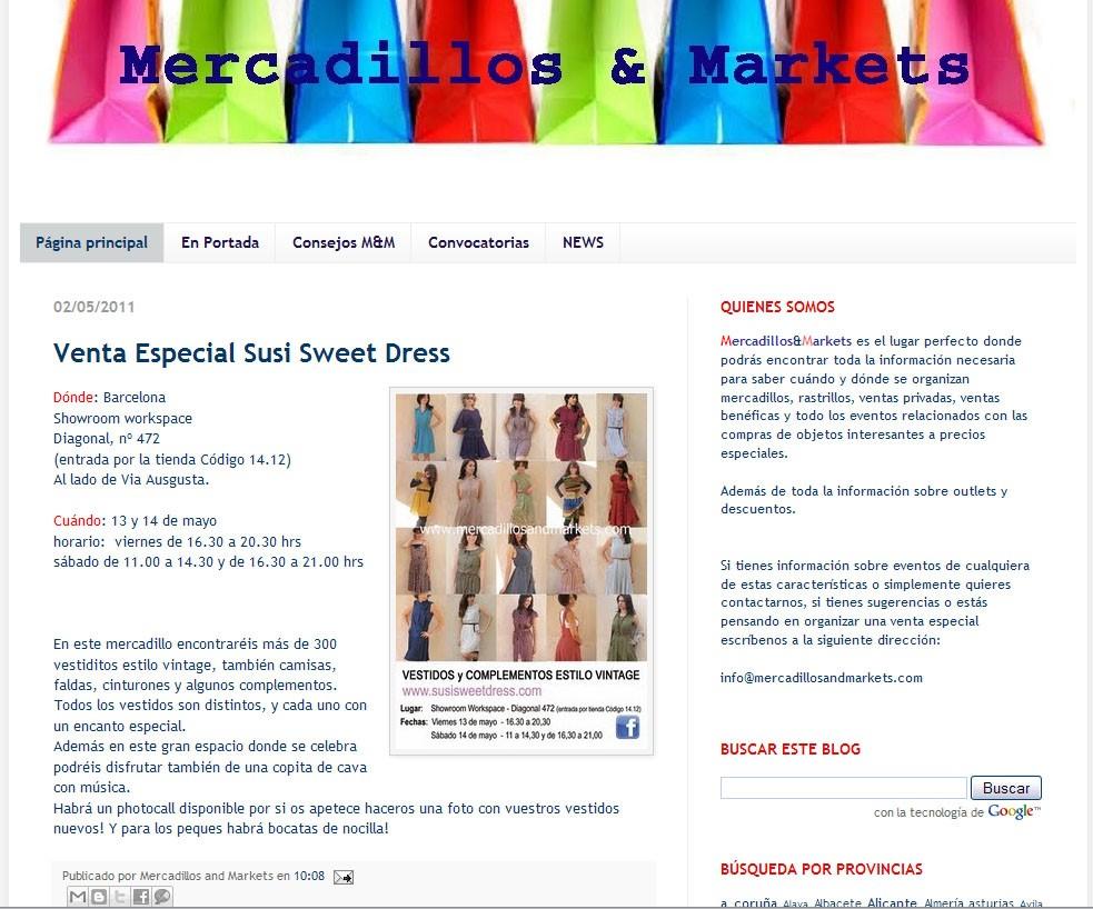 Mercadillos and Markets