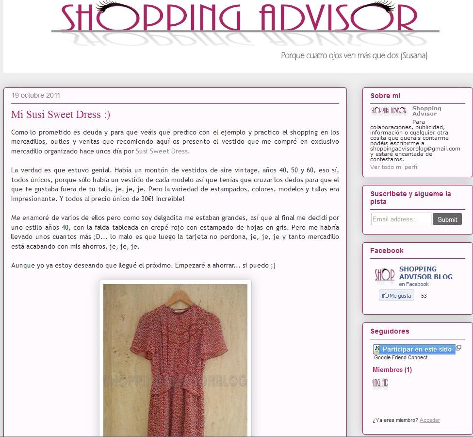 Blog Shopping Advisor