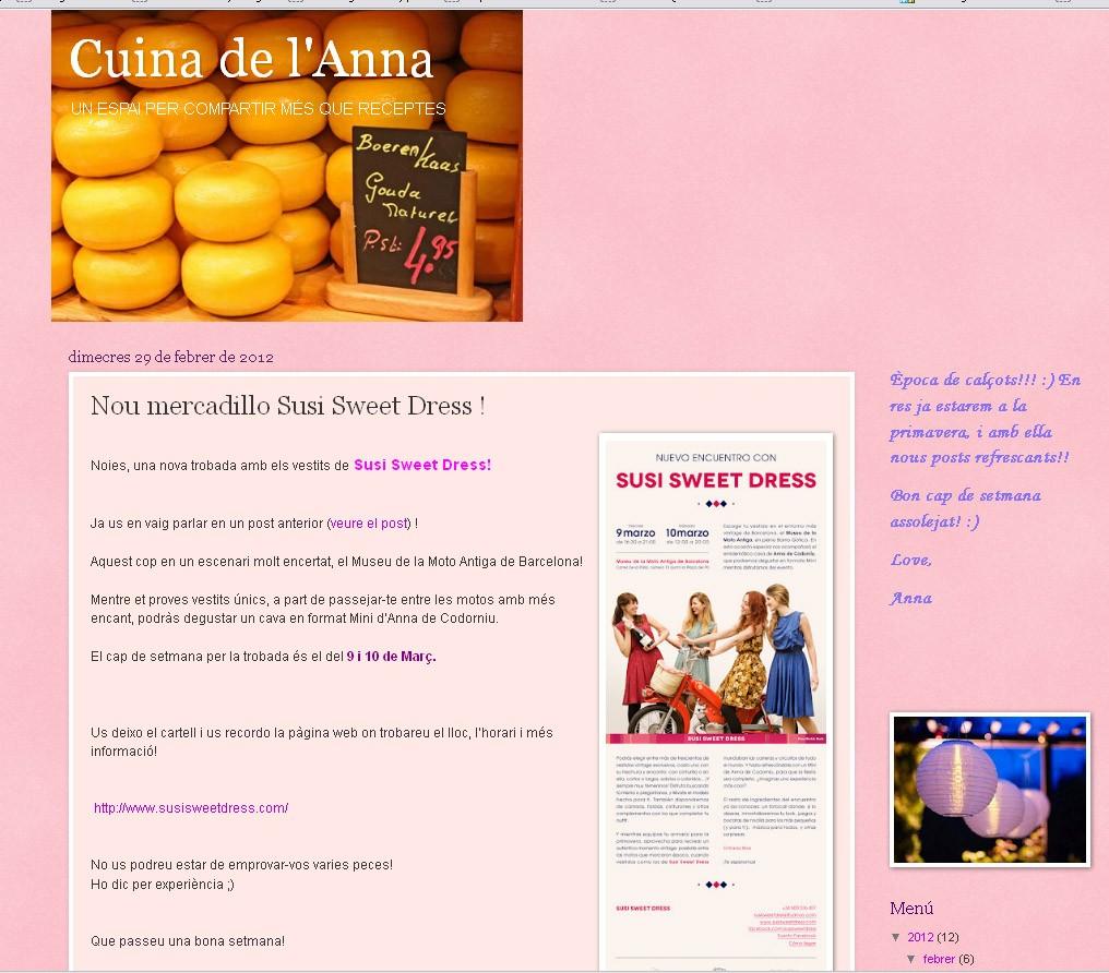 Blog La Cuina de l'Anna