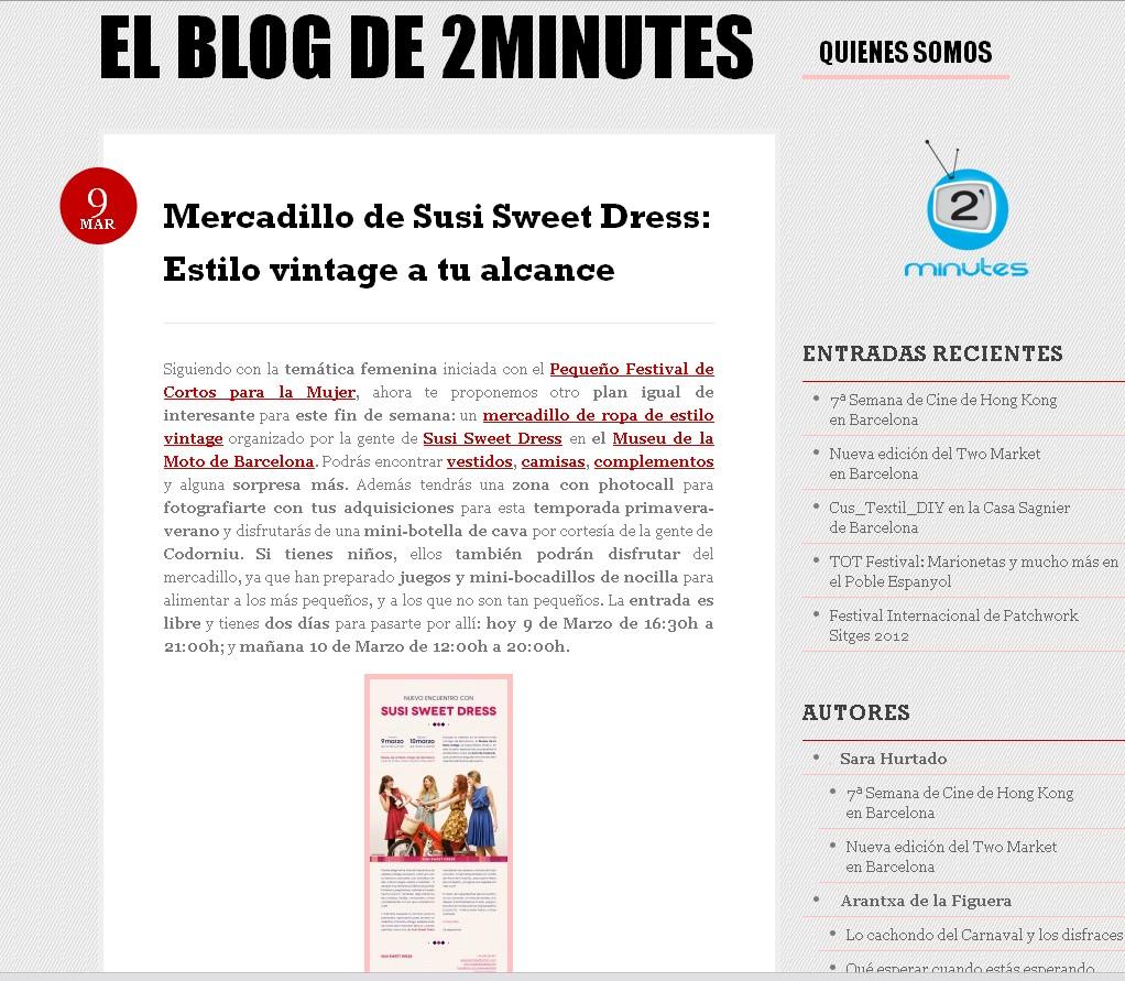 Blog de 2 minutes