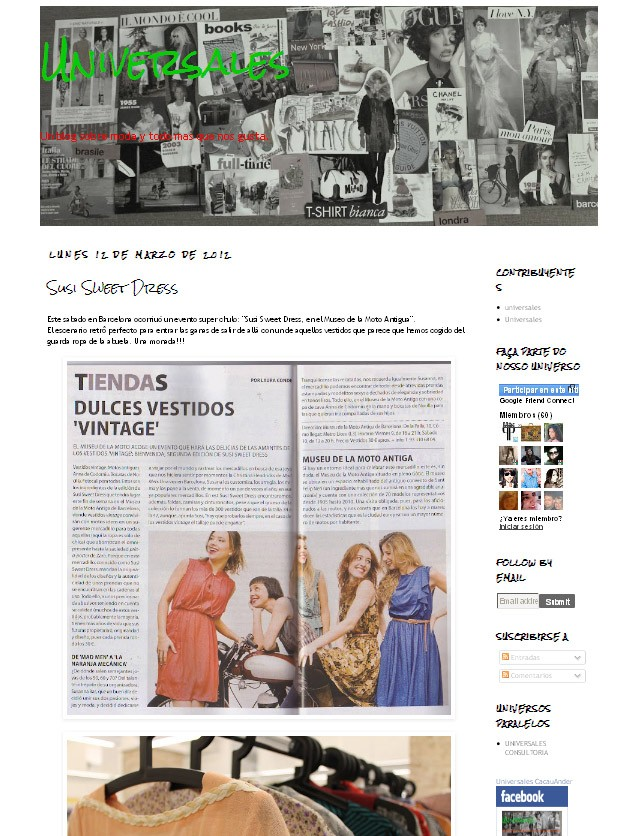Blog Universales