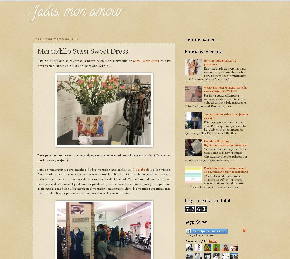 Blog Jadis, mon amour