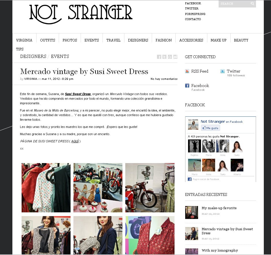 Blog Not Stranger