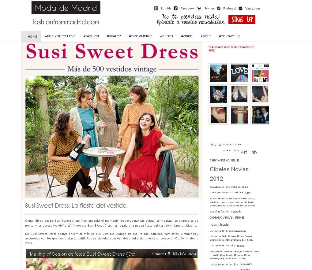 Blog Moda de Madrid